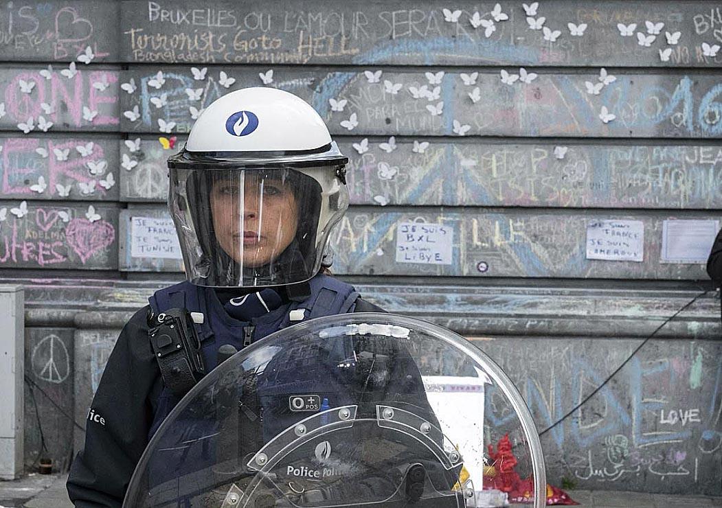 police bruxelles