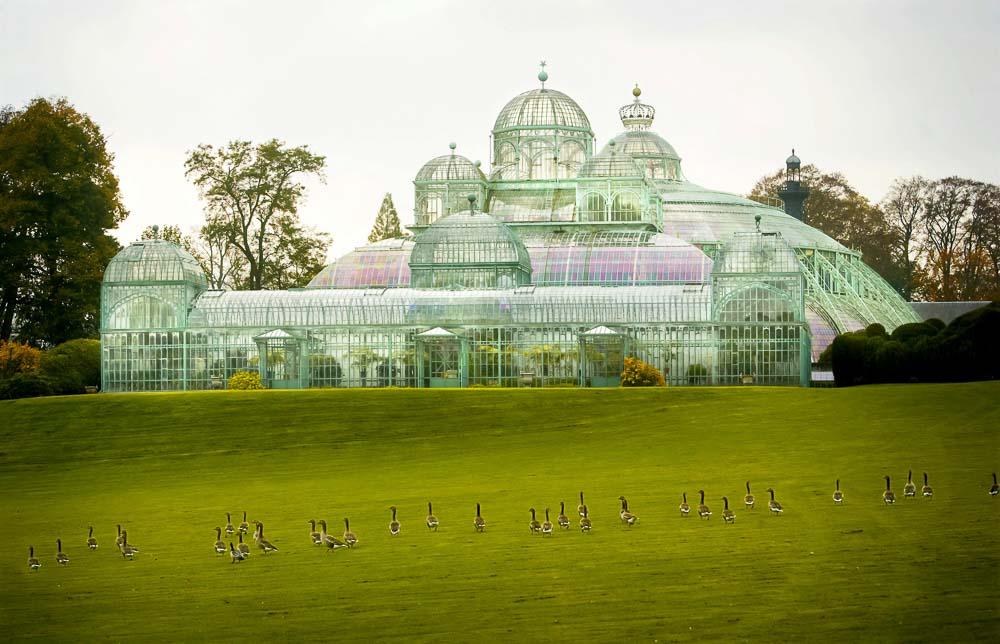 les serres royales de Laeken